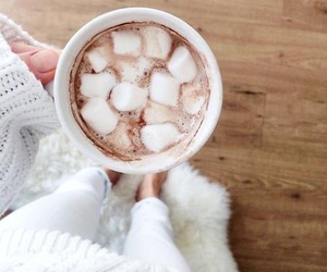 cozy, marshmallow, and winter image