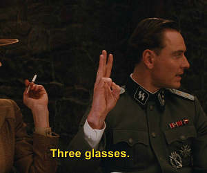 film, text, and inglorious basterds image