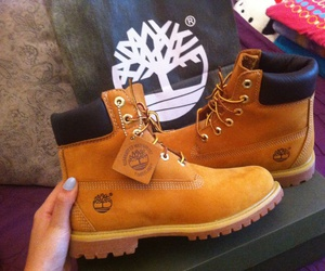 shoes, timberland, and love image