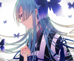 anime, butterfly, and touken ranbu image