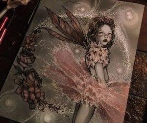 art, dark, and fairy image