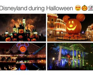 disneyland, Halloween, and october image