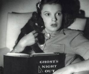 judy garland, vintage, and black and white image