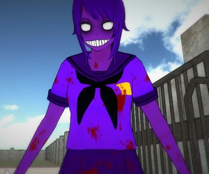 purple guy, yandere-chan, and fnaf image