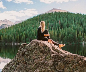 fashion, nature, and forest image