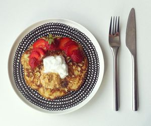 marimekko, pancakes, and treat image