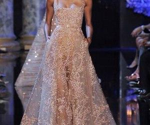 dress, heaven, and runway image