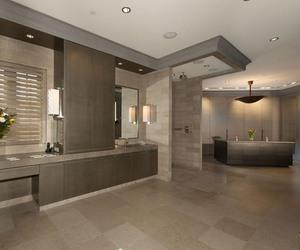 bathroom, home, and life image
