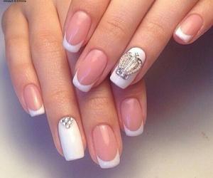 nails, френч, and маникюр image