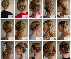 braid, brunette, and plait image