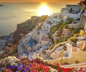Dream, santorini, and sun image