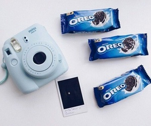 blue, oreo, and picture image