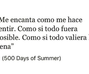 feels, posible, and 500 Days of Summer image