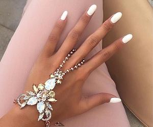 babe, luxury, and nails image
