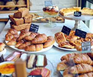 bread, cake, and food image