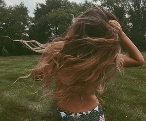 hair, hippie, and summer image