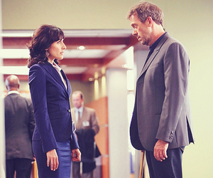 house md, hugh laurie, and lisa edelstein image