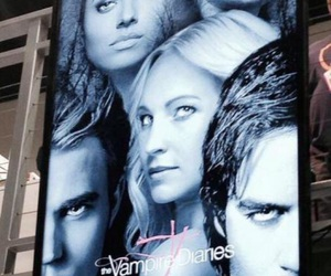 poster, tvd, and season 7 image