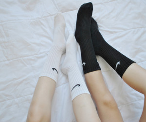 nike, tumblr, and withe image