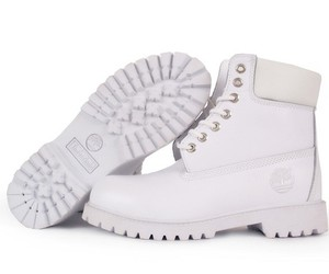 timberland, white, and boots image