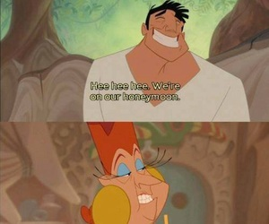 funny, lol, and the emperor's new groove image