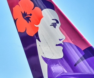 ✈ and hawaiian airlines image