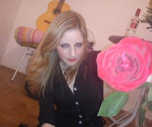 blonde and rose image