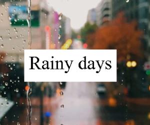 rain and rainy days image