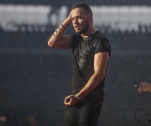liam payne, one direction, and rain image