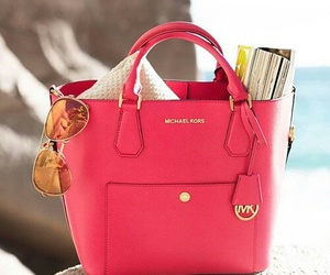 mk, bag, and pink image