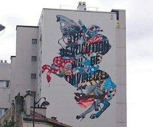 art, cartoon, and graffiti image