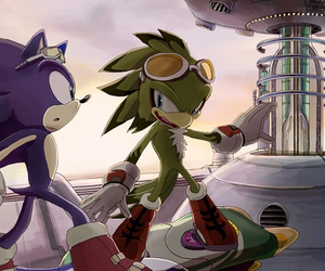 Sonic the hedgehog and jett image