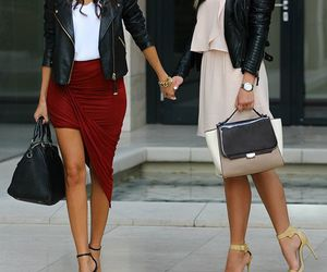 blogger, fashion, and besties image