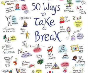 meditate, 50 ways, and to take a break image