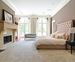 architecture, bed, and design image