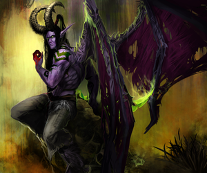 demon, fan art, and warcraft image