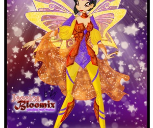 jessica, winx club, and bloomix image