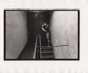 love, black and white, and duane michals image