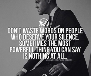 power, quote, and silence image