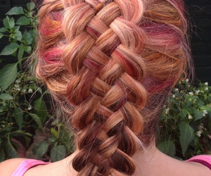 colors, hair, and red image