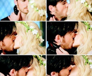 ️ouat, kiss, and once upon a time image