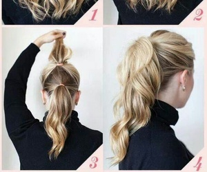 beautiful, Easy, and hair image