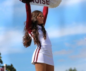 cheer, college, and girl image