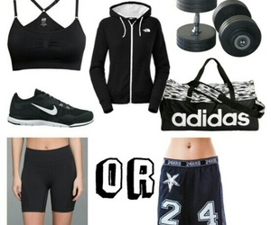 black, idea, and outfit image