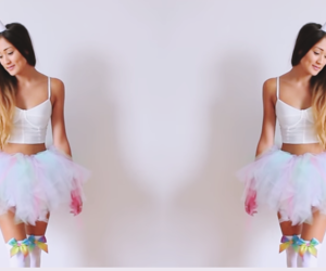unicorn, laurdiy, and easy halloween costume image