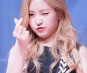 icons, a pink, and naeun image
