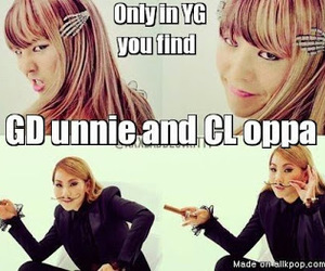 kpop, CL, and gd image