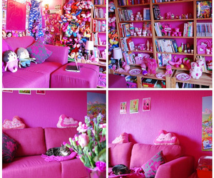 pink, cute, and rooms image