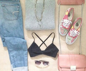 outfit, cute, and pink image