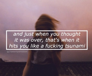 grunge, purple, and quote image